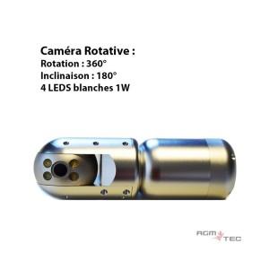 camera endoscope canalisation