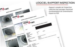 Logiciel rapport inspection de canalisation