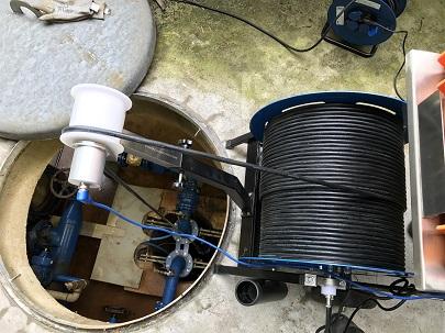 Camera inspection vidéo station de pompage