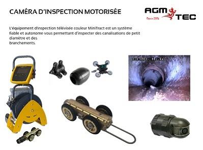 Chariot motorise d'inspection