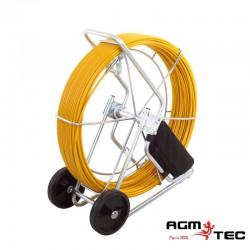 Tire fils détectable Ø11 mm pour traçage réseau
