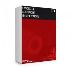 Logiciel de rappord d'inspection de canalisations - Bureau