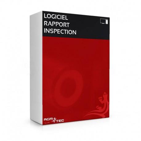 Logiciel de rappord d'inspection de canalisations
