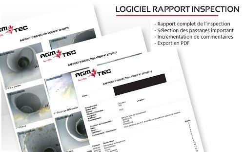 Logiciel rapport inspection canalisation