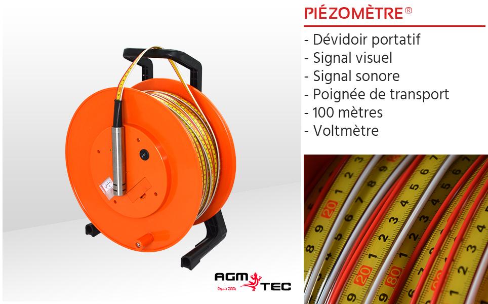 Le piézomètre, votre détecteur de niveau d'eau innovant