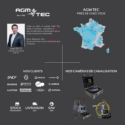 Camera Canalisation fait partie du groupe leader européen de la caméra d'inspection