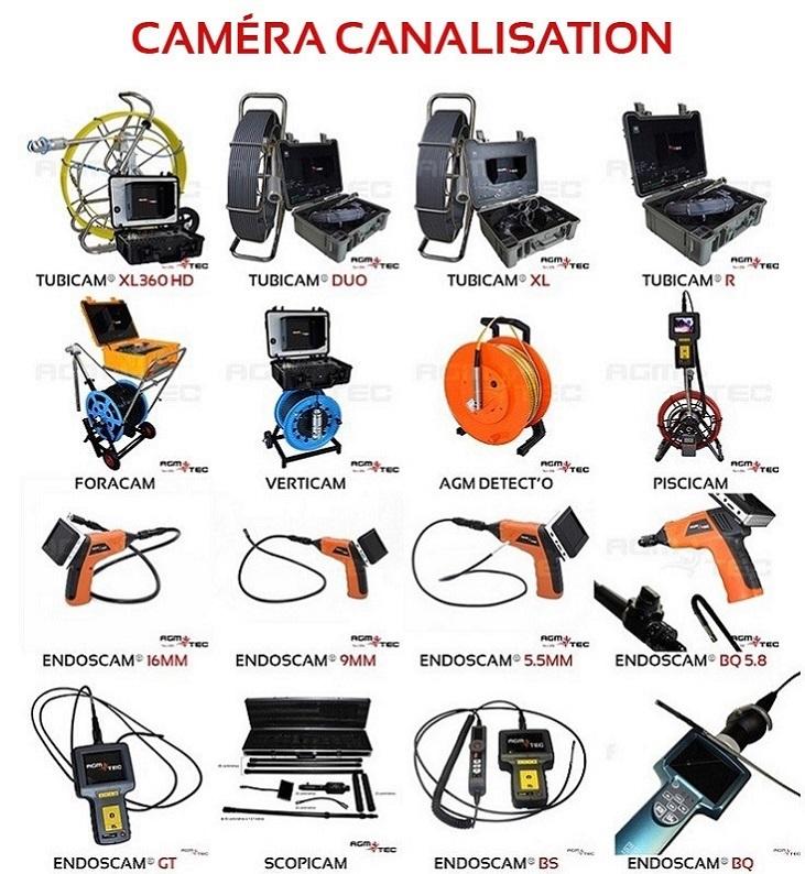 Voici une gamme de caméras endoscopique industrielle