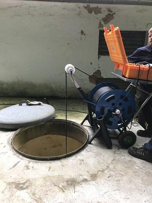 inspection télévisée station de pompage