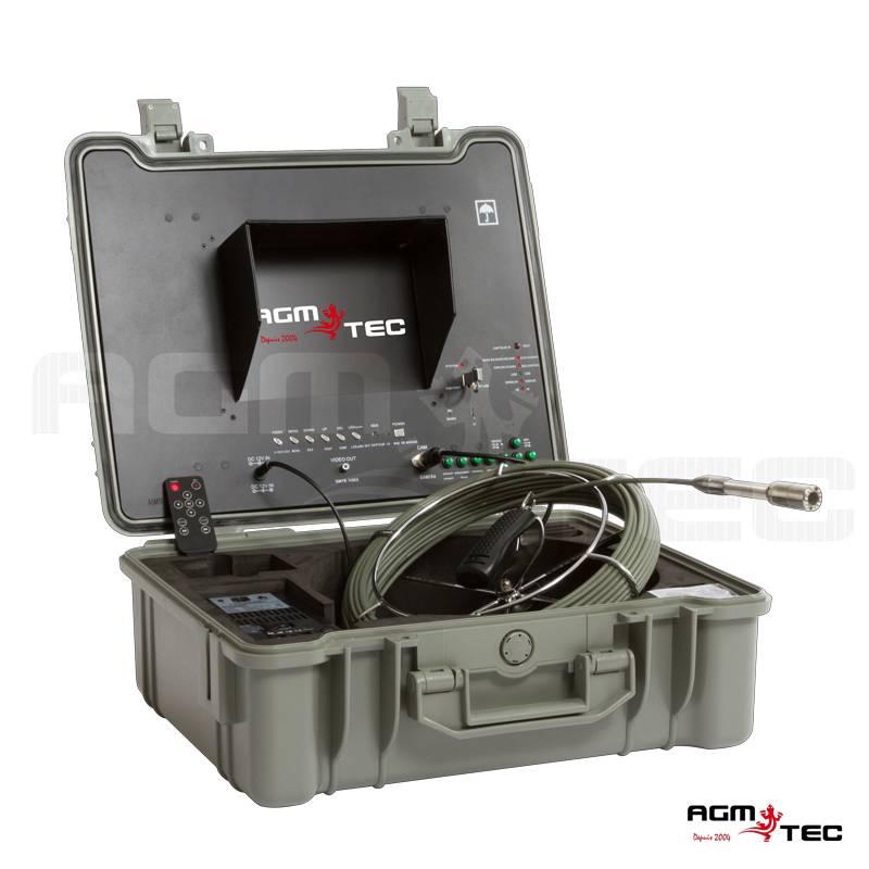 Fabricant de caméras d'inspection de canalisations – AGM TEC