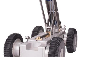 Caméra d'inspection vidéo robotisée sur chariot