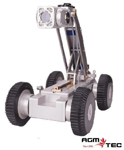 Pourquoi recourir à l'inspection télévisée? Caméra d'inspection vidéo robotisée sur chariot