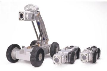 Robot télévisé dans l'inspection des canalisations