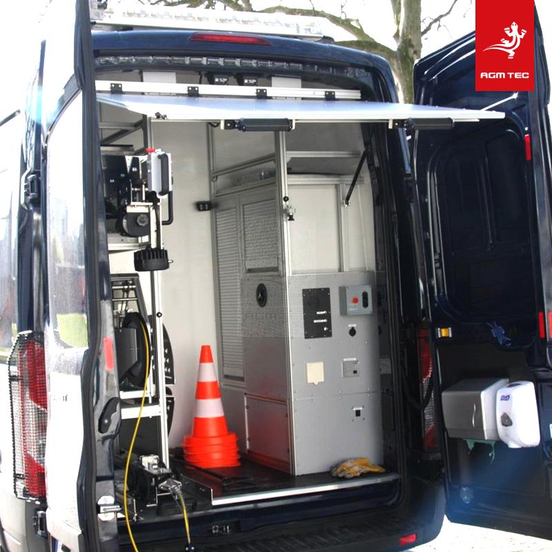 Véhicules d'inspection vidéo pour le contrôle de canalisations – AGM TEC