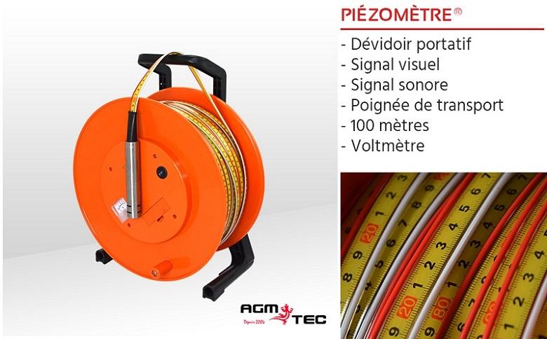location de sonde piézométrique – Capteur de niveau d'eau pour un puits