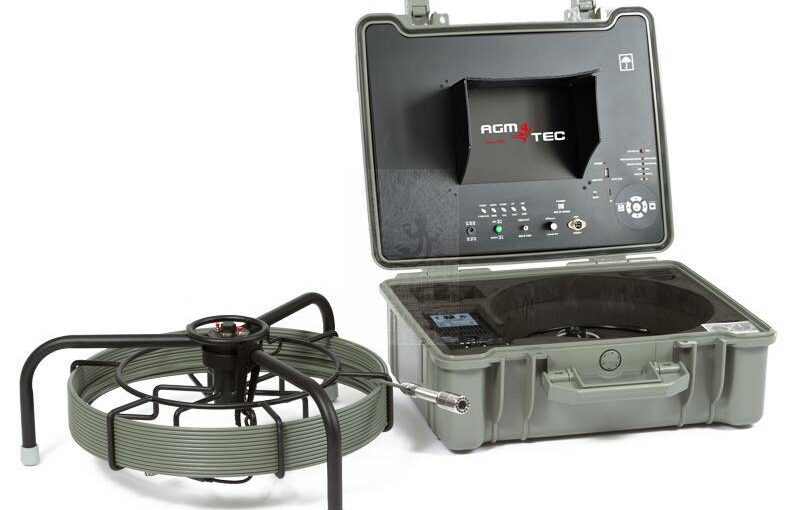 Un système portable d'inspection poussée dans la canalisation afin de faire l'inspection télévisée