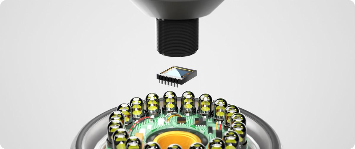 tubicam capteur CMOS