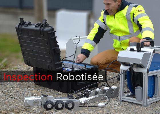 robot inspection detection de pente ovalisation