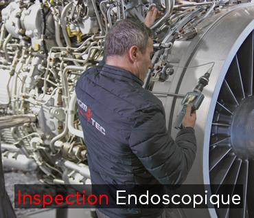 camera endoscopes inspection moteur