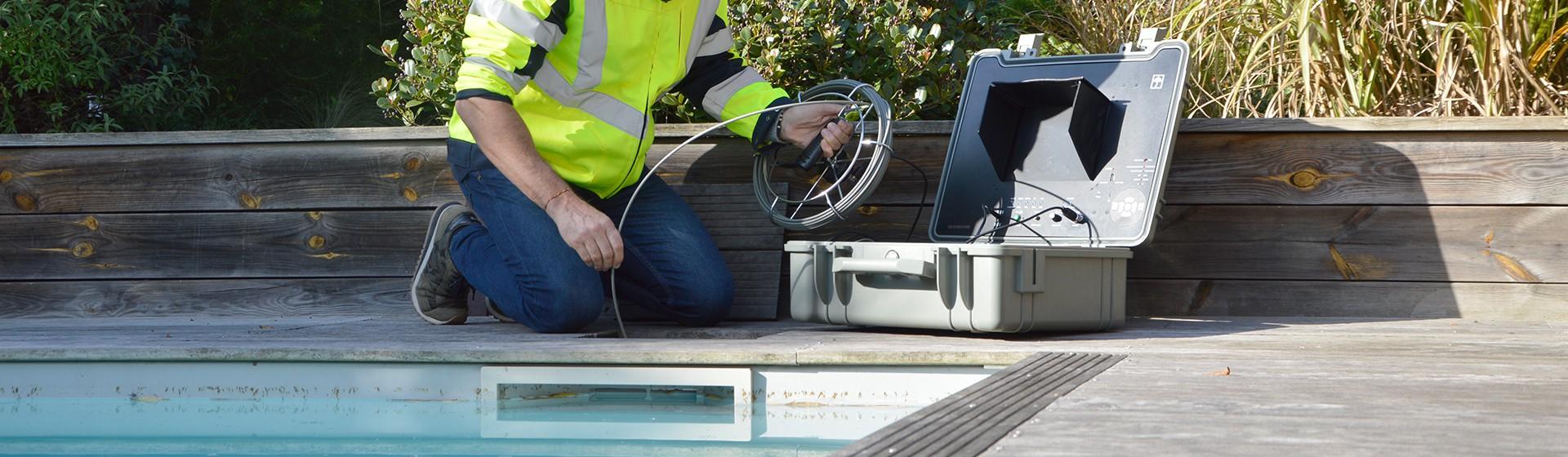 Caméra d'inspection petits diamètres Tubicam® R14